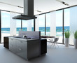 Modern Luxury Loft with luxury kitchen by the sea