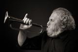 Fototapete Schlag - Horn - Ältere Menschen