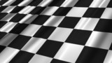 Seamless looping Finish / Checkerboard flag animation.