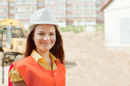 happy builder in hardhat