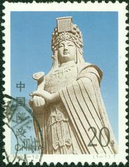 statue of Goddess Matsu