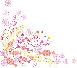 Christmas sweet corner