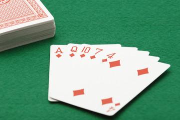 ポーカー―フラッシュ
