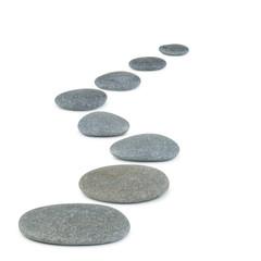 Row pebbles