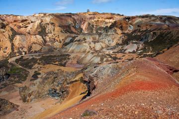 Parys Mountain an ancient open cast mine