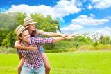 Fototapety glück freude teenager