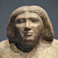 Sculpture antique pharaon