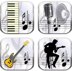 app icon music