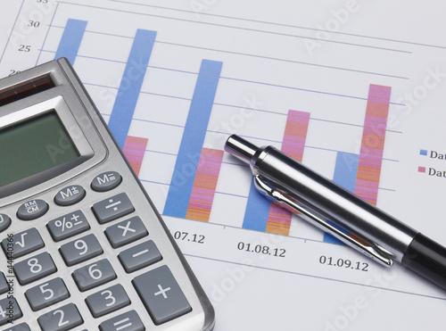 Grafik mit Kalkulator