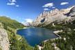 Dolomites - Fedaia lake and pass