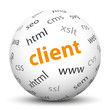 Kugel, Client, Java Script, HTML, CSS, Sphere, Ball, Browser