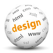 Kugel, Design, Webdesign, XHTML, CSS, Sphere, Ball, Homepage, 3D
