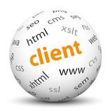 Kugel, Client, Java Script, HTML, CSS, Sphere, Ball, Browser poster