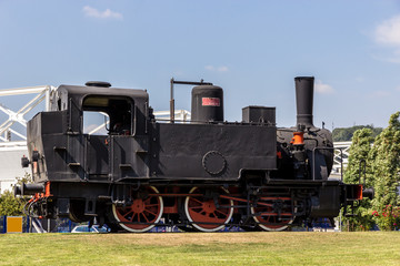 Italian steam locomotive