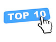 "Social Media Button ""Top 10"" on White Background"