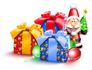 Whimsical Christmas Gifts and Nutcracker