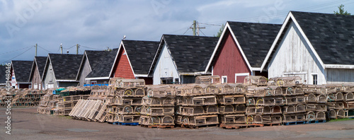 Fishing Shacks, Prince Edward Island, Canada