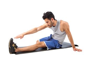 Fitness on the floor