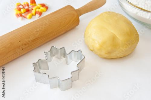 Making Fall Cookies