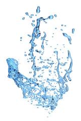 Water splash isolated