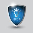 Idea bul symbol shield