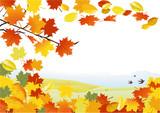 Fototapety Herbst Hintergrund