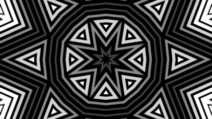 Geometric shapes looping animation