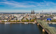 Cologne Skyline Miniature Tilt-Shift