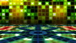 Retro style dancefloor animation loop