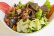 Assiette de salade cpomposé