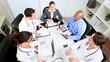 Hospital Boardroom Consultants Meeting