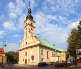 Church of parish P.W. St. Clement in Wieliczka, Poland.