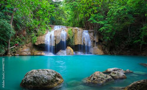 Fototapeten,wasserfall,thailand,cascade,fallen