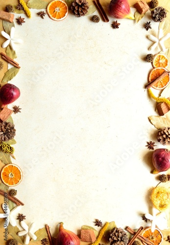 Figs,spice and potpourri.image of autumn