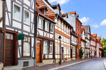 Old street in Hildesheim