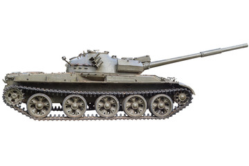 Tank side view