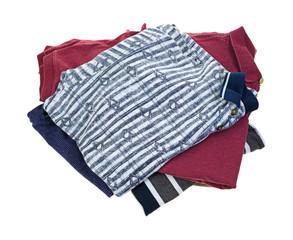 Freshly washed shirts