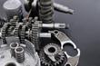 バイクのエンジン部品