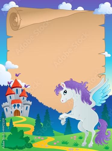 Poster Pony Fairy tale theme parchment 5