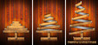 Extensible Wooden Christmas Trees