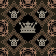 Seamless Vintage. Wallpaper Pattern. Vector