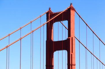 Golden Gate Bridge Detial