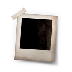 photo frame stick on white
