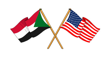 America and Sudan alliance and friendship