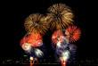 Fireworks in Pattaya, Thailand