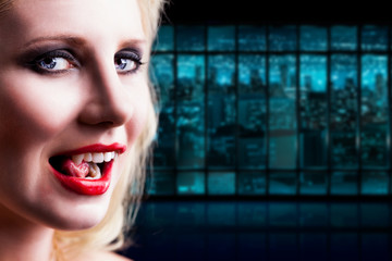 Vampir in der Großstadt