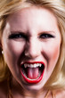 aggressiver Vampir