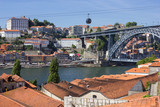 Riverside buildings, roofs em porto, portugal