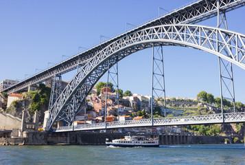 """D. Luis 1"" bridge, Porto , Portugal"