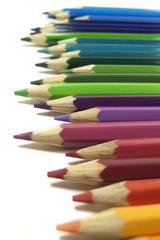 Lápices de colores, vuelta al cole